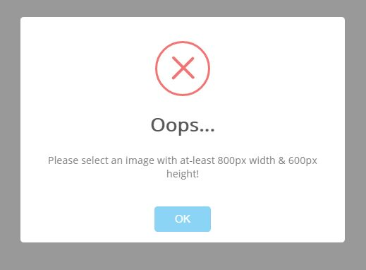 jQuery Plugin To Check Image Resolution Before Uploading - checkImageSize.js