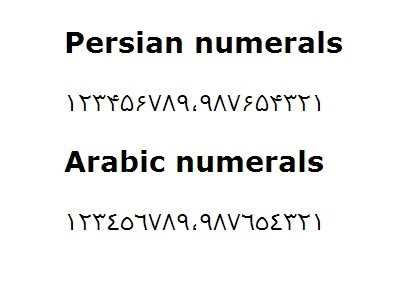 jQuery Plugin To Convert English Numbers To Persian - persianumber