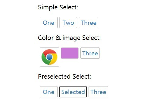 jQuery Plugin To Convert Select List To A Option Picker