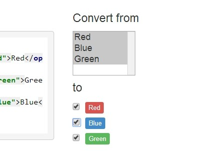 jQuery Plugin To Convert Select Options To Checkboxes - multicheck