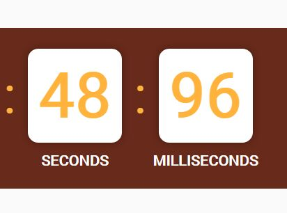 jQuery Plugin To Create A Countdown Timer In Milliseconds - yuukCountdown.js