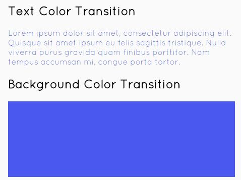 jQuery Plugin To Create Animated Color Transitions - Recolor