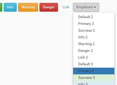 jQuery Plugin To Create Collapsible Bootstrap Button Groups - dropbuttons