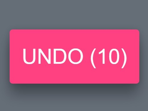 jQuery Plugin To Create Countdown Timers In Action Buttons - UndoCountdown