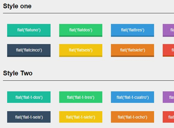 jQuery Plugin To Create Flat Style Elements - Flatui