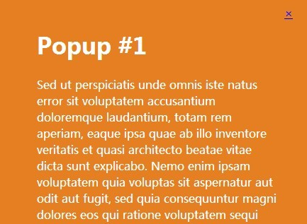 jQuery Plugin To Create Fullscreen Popup Windows | Free jQuery Plugins
