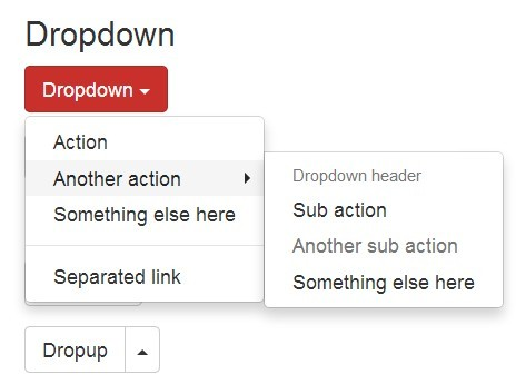 jQuery Plugin To Create Multi-level Bootstrap Dropdowns - Bootstrap Submenu