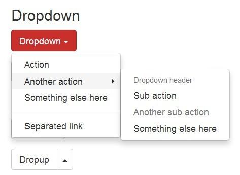 jQuery Plugin To Create Multi-level Bootstrap Dropdowns - Bootstrap Submenu