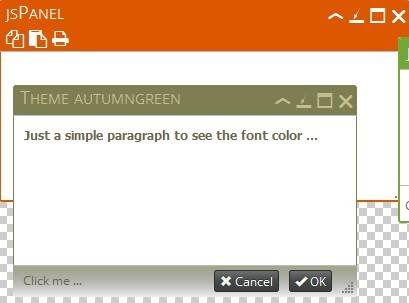 jQuery Plugin To Create Multifunctional Floating Panels - jsPanel 4