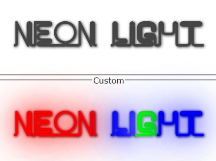 jQuery Plugin To Create Neon Light Effect For Text - neon