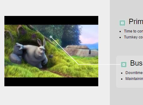 jQuery Plugin To Create Pointers In A Video - Video Pointer