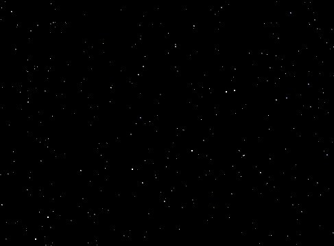 jQuery Plugin To Create Starry Background Using Canvas - Starfield