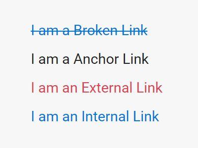 jQuery Plugin To Detect Broken/External/Anchor Links - link-checker.js