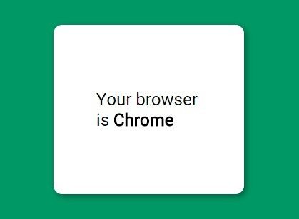 jQuery Plugin To Detect Browser Based On User Agent - Browser Detection