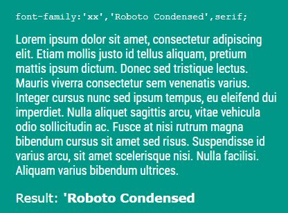 jQuery Plugin To Detect Font Family In An Element - detectfont