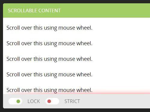jQuery Plugin To Disable Page Scrolling For Scollable Element