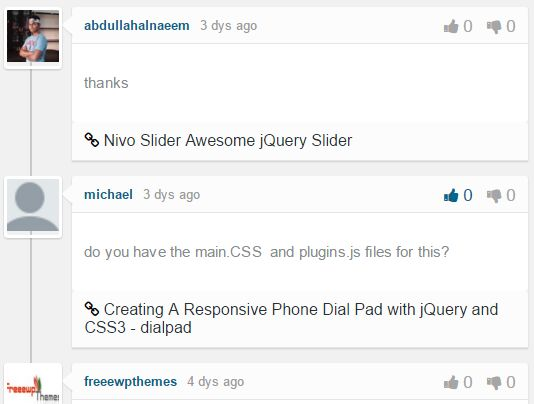 jQuery Plugin To Display Disqus Comments On The Webpage - Disqusin.js