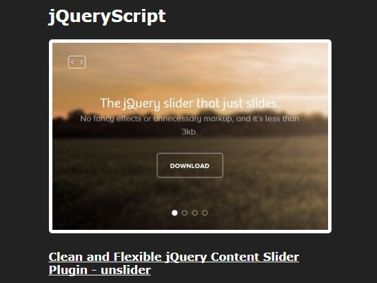 jQuery Plugin To Display RSS Feeds On Your Webpage - YRSS