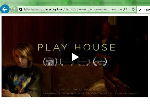 jQuery Plugin To Embed Vimeo Videos with Thumbnails - Smart Vimeo Embed