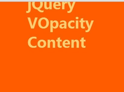 jQuery Plugin To Fade Out Element On Scroll - VOpacity