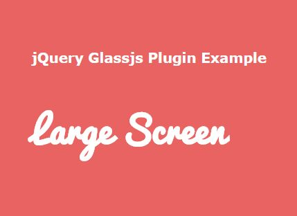 jQuery Plugin To Fire Events When The Window Hits Specific Breakpoints - Glassjs