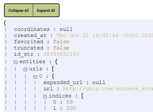 jQuery Plugin To Format & Beautify JSON Data - jsonfrill