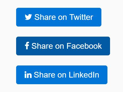 83ccb3ace13c7e jQuery Plugin To Generate Custom Social Share Links