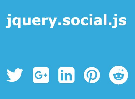 jQuery Plugin To Generate Social Share Links Using HTML Meta Tags