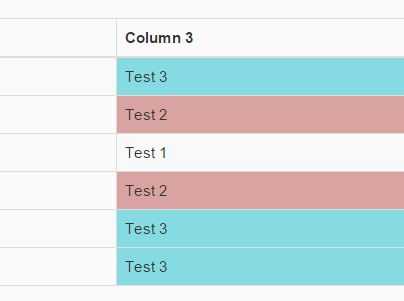 jQuery Plugin To Highlight Duplicate Table Cells - duplifer.js