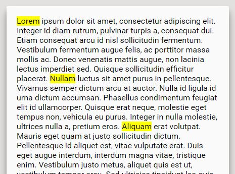 jQuery Plugin To Highlight Matched Terms Within Document - Text Highlight