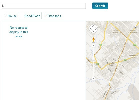 jQuery Plugin To Locate and Display Determined Places with Google Maps API