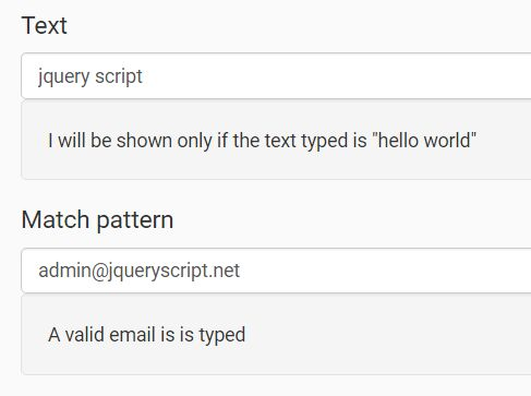 jQuery Plugin To Manage Conditional Eelements Based On User Input - Conditioner