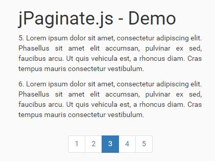 jQuery Plugin To Paginate Any Long Text Content - jPaginate