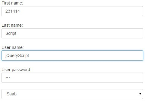 jQuery Plugin To Cache/Preserve Form Values Using Html5 Web ...