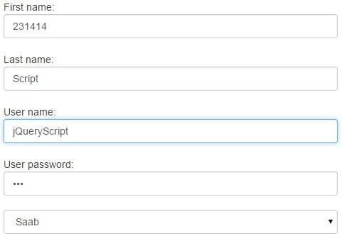 jQuery Plugin To Preserve Form Data Using Local Storage - Ftakar