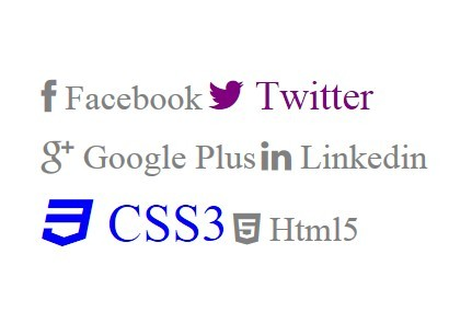 jQuery Plugin To Replace Links with Font Awesome Icons - Iconify