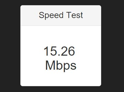 jQuery Plugin To Test Internet Connection Bandwidth - Speed Test