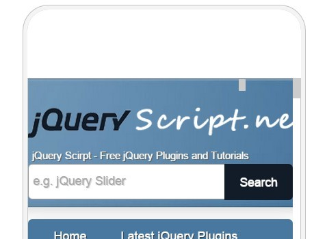 jQuery Plugin To Test Your Website In Multiple Types of Screen