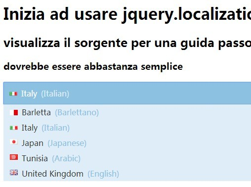 jQuery Plugin To Translate Webpage In A Given Language - localizationTool