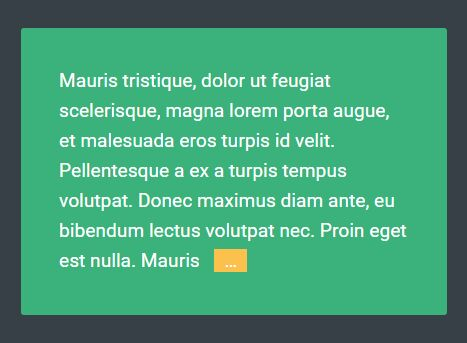 jQuery Plugin To Trim Text String with Ellipsis - Trunc.js