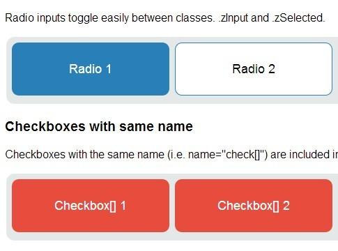 Customizable Checkbox Plugin With Jquery And Bootstrap
