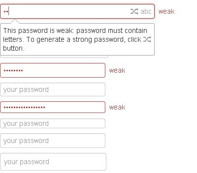 jQuery Plugin for Enhanced Password Field - Pass Field