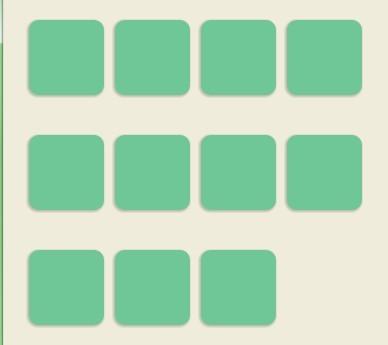 jQuery Plugin for Horizontal Spacing Layout - gridem