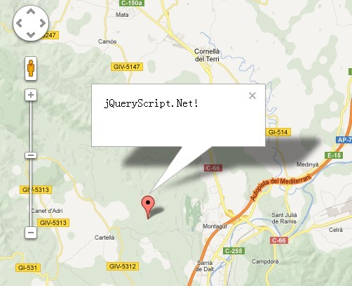 Jquery map plugins jquery script jquery plugin for integrating google maps v3 with your web page tekmap gumiabroncs Gallery