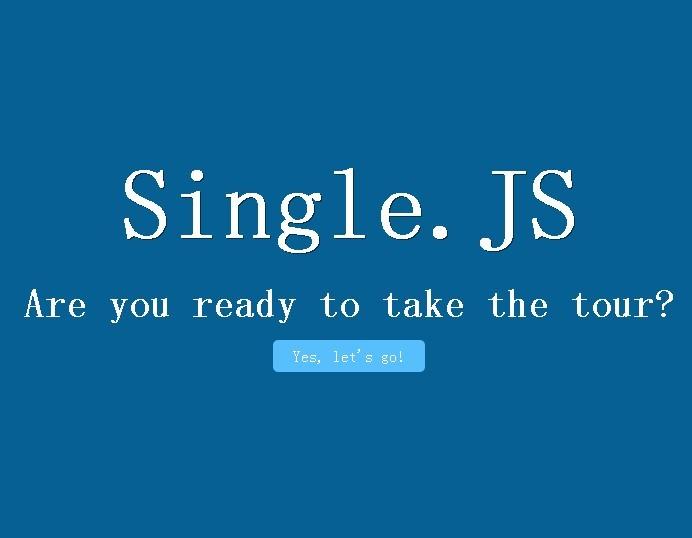 jQuery Plugin for Single Page Websites - singlejs
