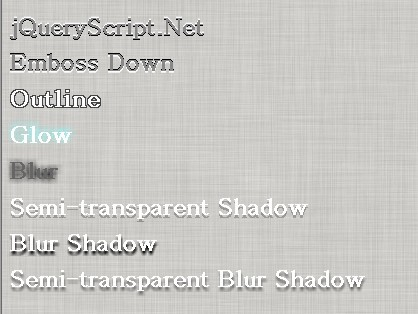 jQuery Plugin for Text Shadow in Internet Explorer