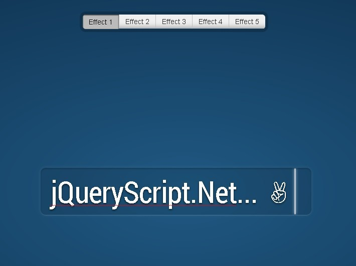 jQuery Plugin for Typing In Input with Amazing CSS3 Effects - Fancy Input