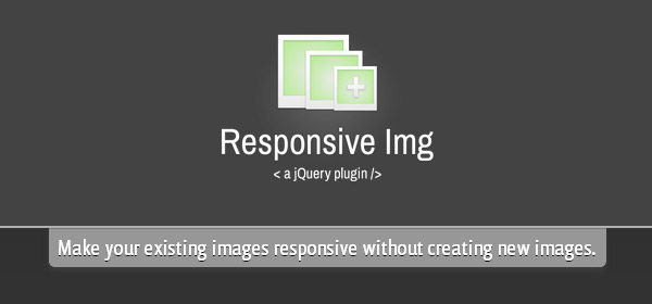 jQuery Responsive Image Plugin - Responsive Img