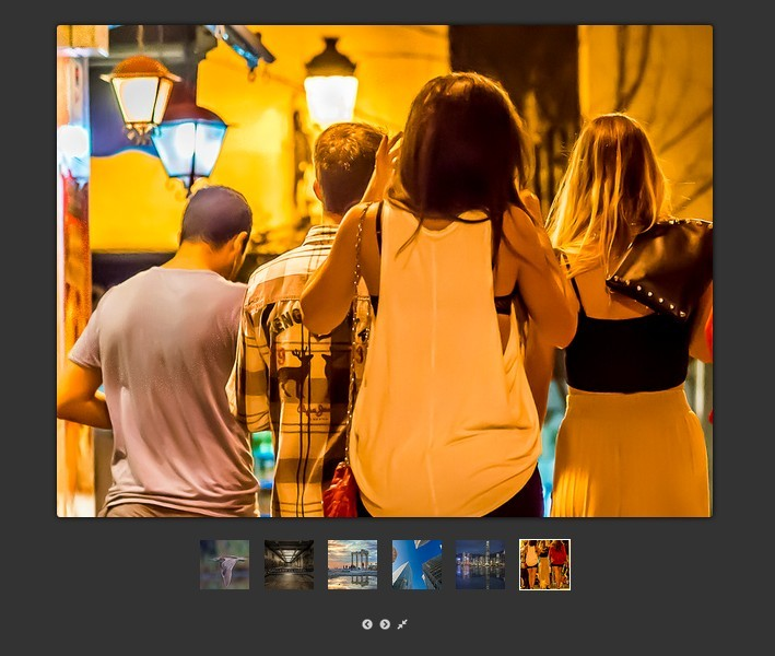 jQuery Slider Style Image Viewer Plugin - Picture Box