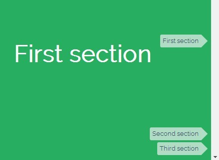 jQuery Tooltips Navigation For One Page Scrolling Website - scrollTips